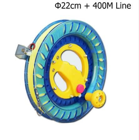Professional Kite Line Winder Winding Reel Grip Wheel + String Flying Tools & Lock Kit Suitable for a variety of kites for kids