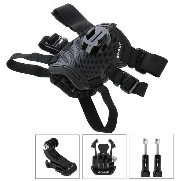 Action camera Accessories Dog Fetch Harness Chest Strap Shoulder Belt Mount For Go Pro 4 3 2 SJ4000 WIFI sport Camera