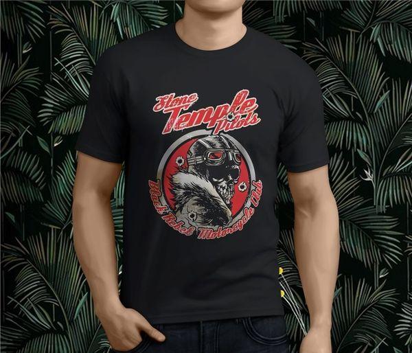 New Popular STP STONE TEMPLE PILOTS Rock Band Men's Black T-Shirt S-3XL
