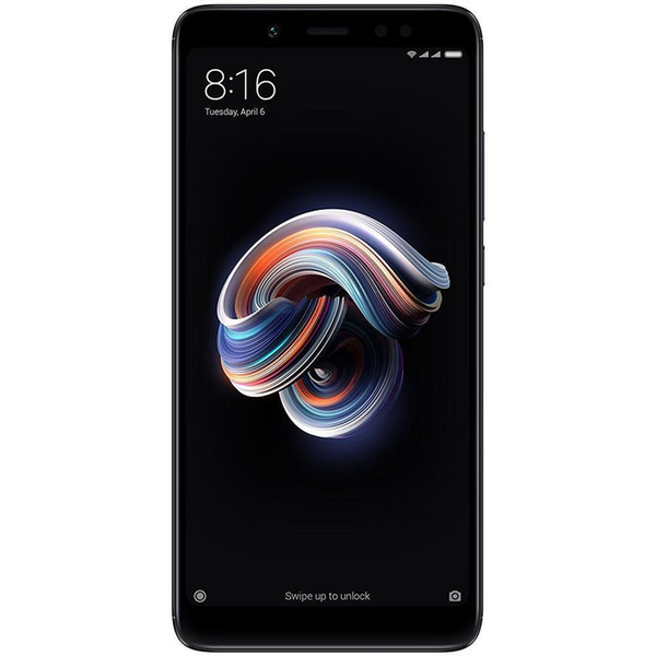 Téléphone portable d'origine Xiaomi Redmi Note 5 4G LTE 4 Go de RAM 64 Go de ROM Snapdragon 636 Octa Core 5.99