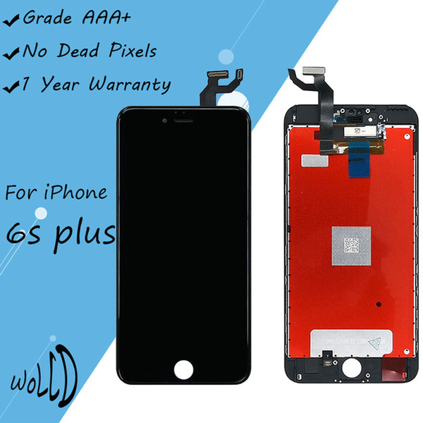Top Selling LCD Display Touch Screen with Frame High Quality Good Backlight for iPhone 6s Plus Lcd Screen