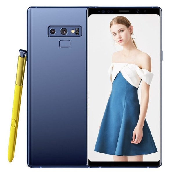 Goophone 9 smartphones note 6.4inch edge screen Android 7.0 dual sim shown 4G RAM 128G ROM 4G LTE cell phones