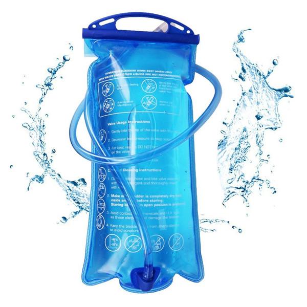 Открытый кемпинг воды сумка мягкий питьевой пузырь верблюд сумка гидратация мочевого пузыря Велоспорт Туризм Путешествия контейнер для воды 2L