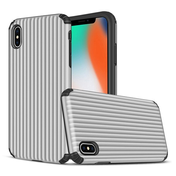 Suitcase Armor Case TPU PCPhone Cover for Iphone XS XR XS max hot sell new design phone case Oppbag 100 pcs at least