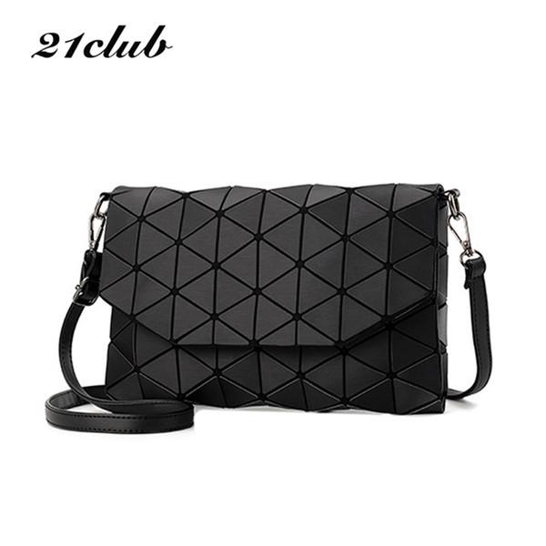 2017 new small solid plaid geometric lingge envelope handbag hotsale women clutch ladies purse crossbody messenger shoulder bags Y18102003
