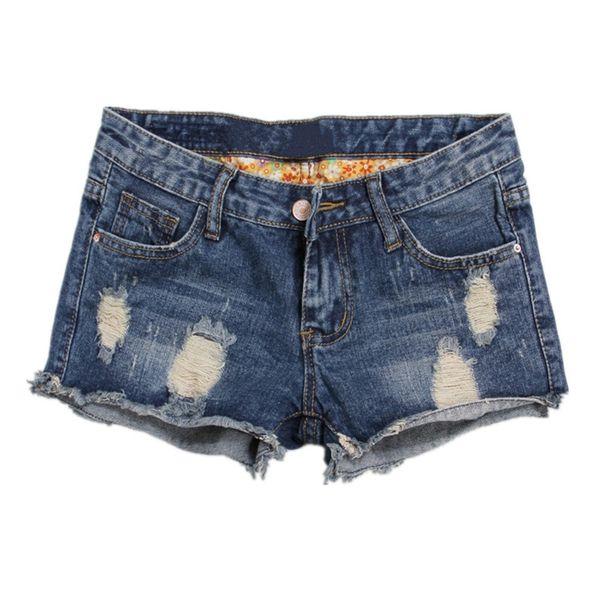 brand denim Europe Blue Denim For Women 2018 Summer New Brand Trendy Slim Casual Plus Size 36 Womens Jeans Shorts