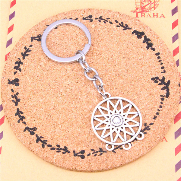 Keychain connector Pendants DIY Men Jewelry Car Key Chain Ring Holder Souvenir For Gift