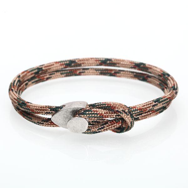 comment chercher premier taux gamme exceptionnelle de styles et de couleurs Acheter Couple Bracelet / Bracelet Hommes / Femmes / Corde / Nautique /  Simple / Ajustable / Hommes / Minimaliste / Fermoir Crochet / Bracelets  Pour ...