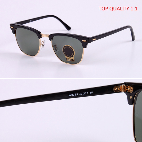 RLEI DI großhandel top qualität Luxus club gafas Frauen markendesigner Sonnenbrillen Vintage master Oculos De Sol Feminino G15 49mm 51mm gafas