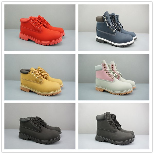 2018 Hot Sale TBL 10061 Classic Wheat yellow Women Men Designer Boots for Top quality multicolor Fashion Casual Snow Work Boots Size 36-46