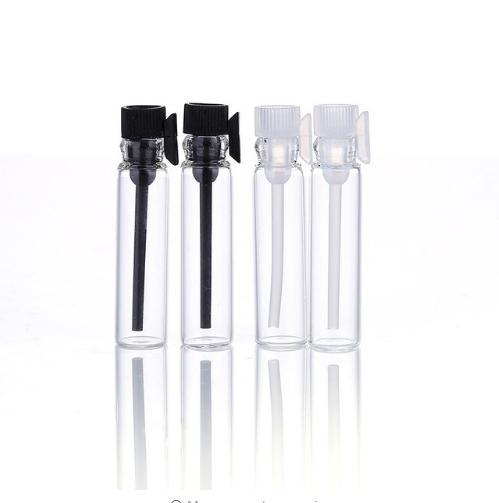 1ML 1CC 2ML 2CC 3ML 3CC perfume Botellas pequeñas Frasco de vidrio con varilla de prueba Frasco de muestra de mini perfume, prueba de vidrio Botellas recargables vacías