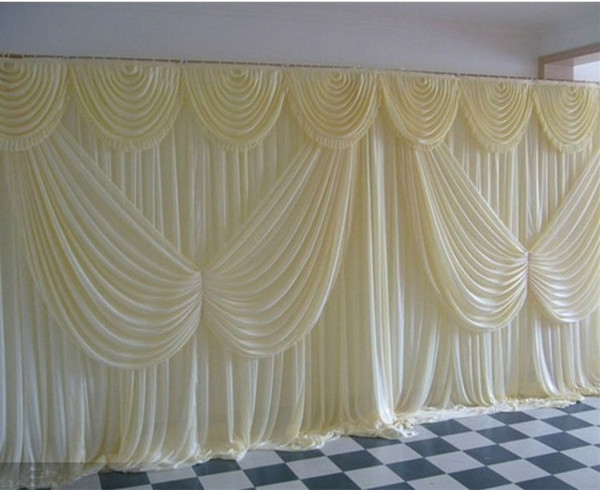 High Quality Wedding Backdrop Curtain Angle Wings Sequined Wedding Decorations 6m*3m Cloth Background Scene Wedding Decor Supplies