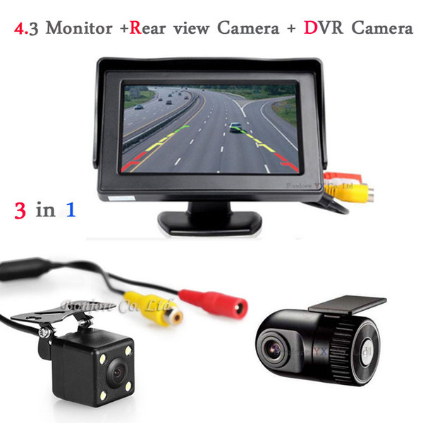 2017 Vehicle Rearview mirror with DVR and camera Car DVRs Camera DashCam Hidden Car DVR Recorder Auto Rear view Radar