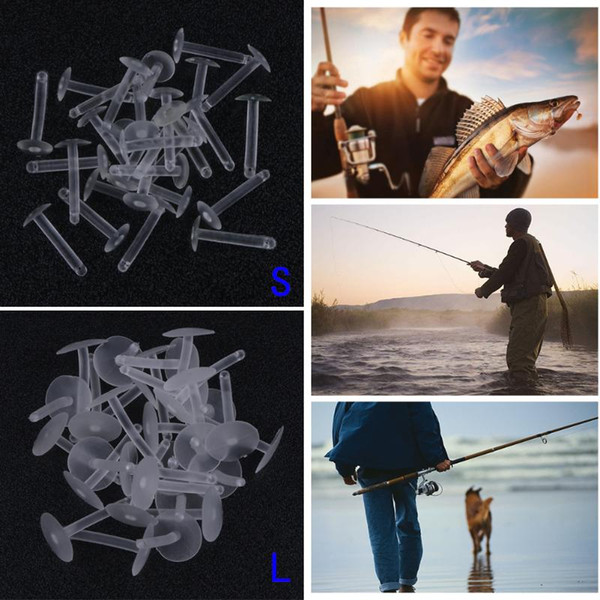 0Pcs Carp Terminal Boilie Bait Insert Hair Rig Quick Change Stops Fishing Lure Pesca Accessories Promotion 30Pcs Carp Fishing Terminal B...