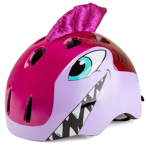 BATFOX Kids Cycling Helmet Cartoon Bike Ultralight Outdoor Sports Children Protective Bicycle Skating Helmet 48-52cm