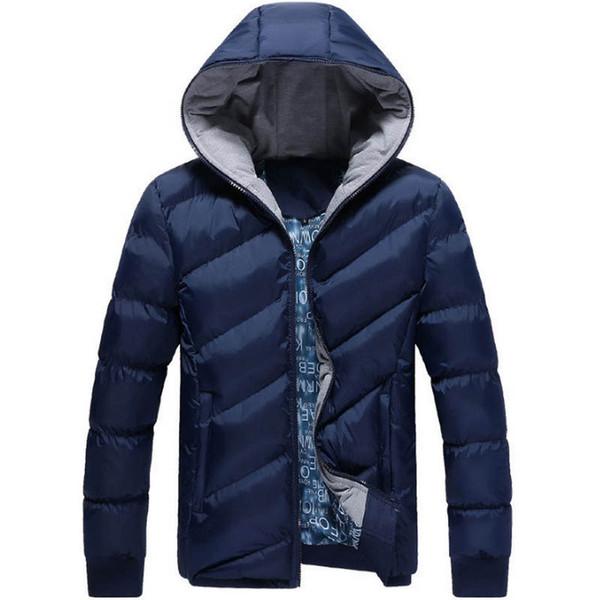 2018 Brand New Hommes Veste Automne Hiver Vente Chaude De Haute Qualité Hommes De La Mode Manteau Casual Outwear Cool Conception Chaud Veste M-5XL