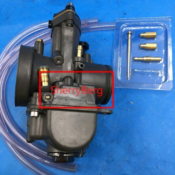 carburetor 32mm PWK replace keihin OKO carb black w power jet for honda yamaha