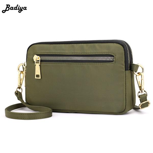 Fashion Girl Long Strap Pure Color Solid Crossbody Bag Borsa Messenger Bag Trucco Donna idrorepellente Bolsa Sac