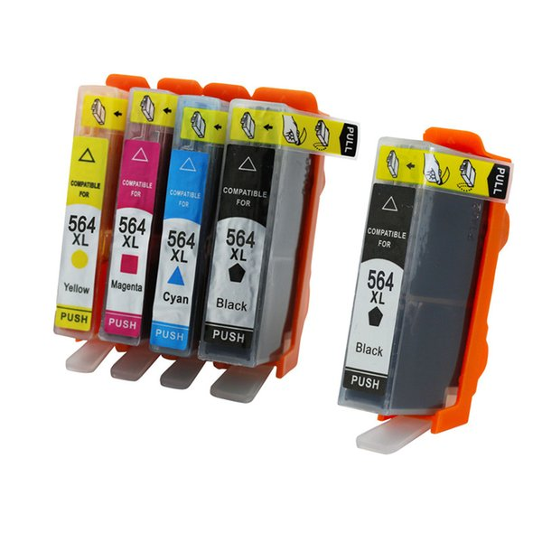 5PK Ink Cartridge Compatible For HP 564 564xl Photosmart premium C310b C310c C410a C410b C410d C309a C309g C309n C310a Inkjet