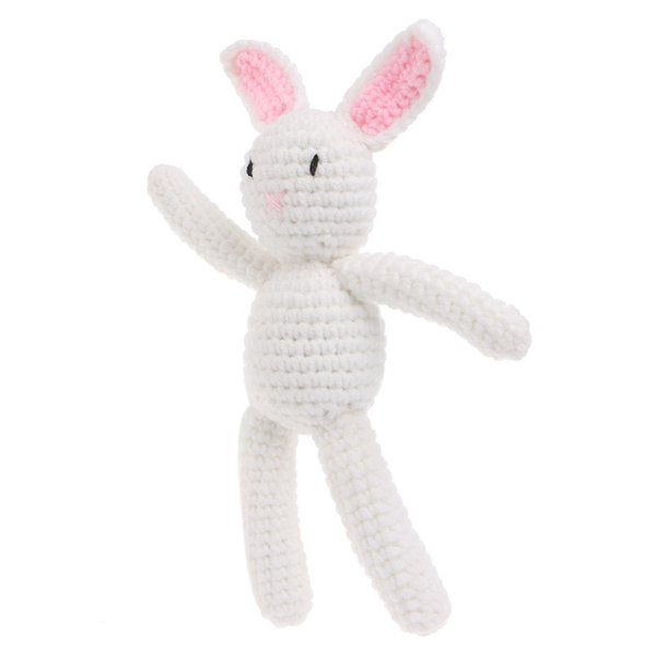 Lovey 1Pcborn Baby Girls Boys Rabbit Photography Prop Photo Crochet Knit Toy Cute