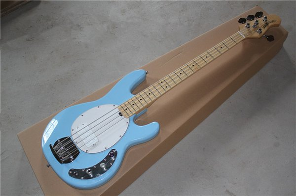 HOT!Music man StingRay four strings electric bass sky blue