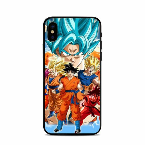 Dragon Ball Z Super Saiyan 060 Phone Case For Iphone 5c 5s 6s 6plus 6splus 7 7plus Samsung Galaxy S5 S6 S6ep S7 S7ep
