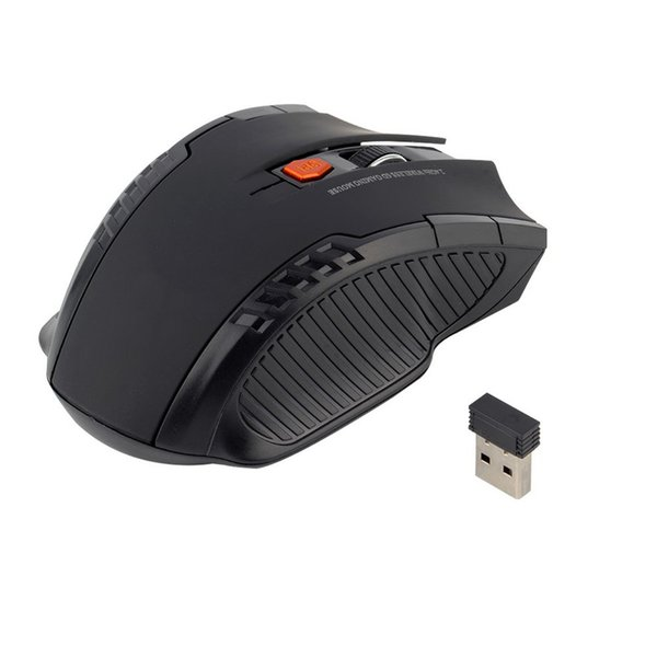 2.4Ghz Mini portable Wireless Optical Gaming Mouse For PC Laptop Red
