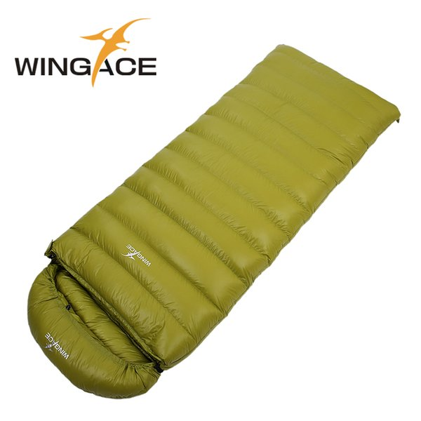 Fill 3000G Envelope winter sleeping bag hiking duck down outdoor Camping Travel Adult Sleep Bag uyku camping accessories
