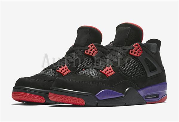 4dc0c35c3139 2018 New Release 4 Drake NRG Raptors 4S IV Basketball Shoes Sneakers Men  Black Purple Red
