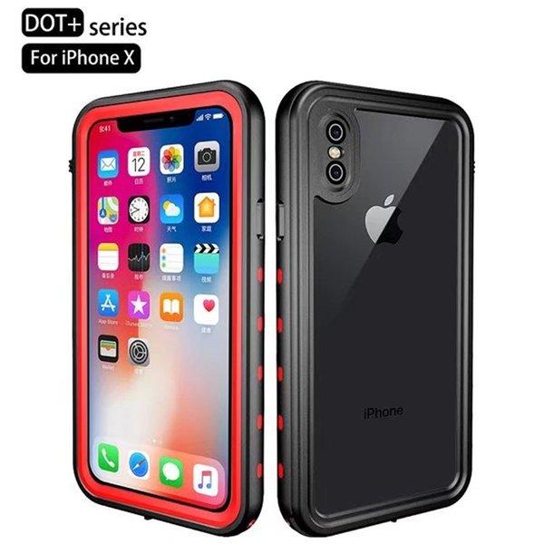 Водонепроницаемый чехол redpepper для iPhone8 8plus 7plus 7 6Plus 6 с 5s и 5C с датчиком отпечатков пальцев Touch