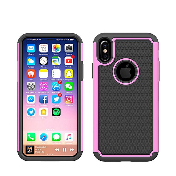 sneakers for cheap 8cd4c e3ed6 For IPhone 4 5 C 7 8 Plus Football Hybrid Rugged Tough Armor Swanky Combo  Case Black Fashionable Colorful Shockproof PC TPU Back Cover Custom Leather  ...