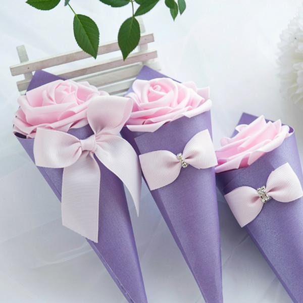Purple Box + Rosa Rose + Rosa Schleife