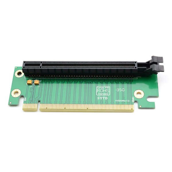 PCI-E-Adapterkarte Hot Worldwide PCI-E Express 16X 90-Grad-Adapter-Adapterkarte für 2U-Computer-Server-Gehäuse hot new