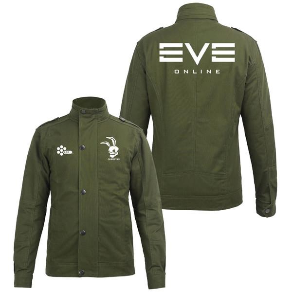 2016 New Autumn Winter Fashion EVE Online Cotton Zipper Jacket Hood Fleeces Hoodies