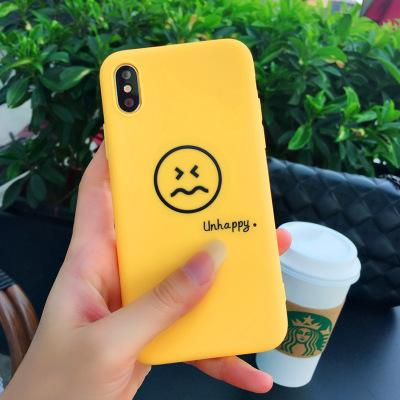 For Apple iphone X iphone 8 iphone 7 7 plus Creative cell phone cases Smile type phone cases shell