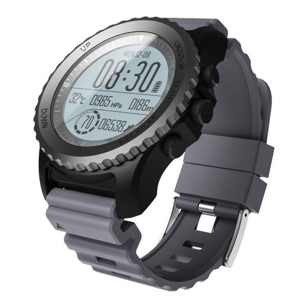 1PCS S968 GPS Sport Smart Watch Waterproof Sleep Heart Rate Monitor Thermometer Altimeter Pedometer GPS Smartwatch package