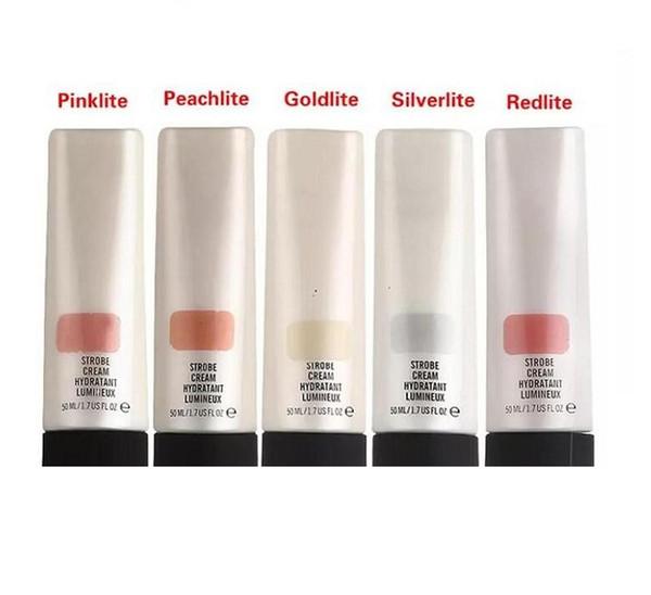 MC Strobe Crème Hydatant Lumineux Maquillage Fond De Teint Primaire Anti-cernes 50ml Crèmes 5 Couleurs Avec Détail Boîte Vente CHAUDE