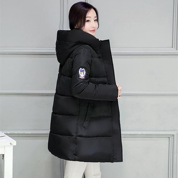 Women Autumn & Winter Fashion Jacket Coat Female Long Parka With Hood Basic Jackets Casual Overcoat Outerwear & Coats