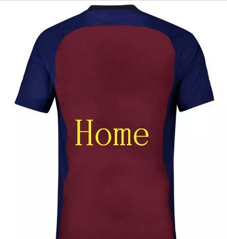 db2c4d8425a412 Compre 2018 19 Home # 10 Messi # 7 COUTINHO INIESTA O.DEMBELE PIQUE SUAREZ  Terceira Camisola De Futebol Home Barcelonas Camisola PAULINHO Camisa De ...