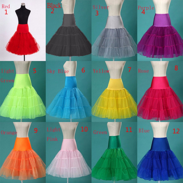 Short Petticoat Crinoline Jupon Wedding Bridal Petticoat Yarn ...