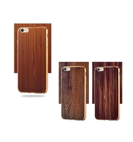 Wood style Cover For iphone 6 plus Case Natural Bamboo Wooden Phone Cases For iPhone 6 6S Plus 6 Plus Fundas-in Underwear
