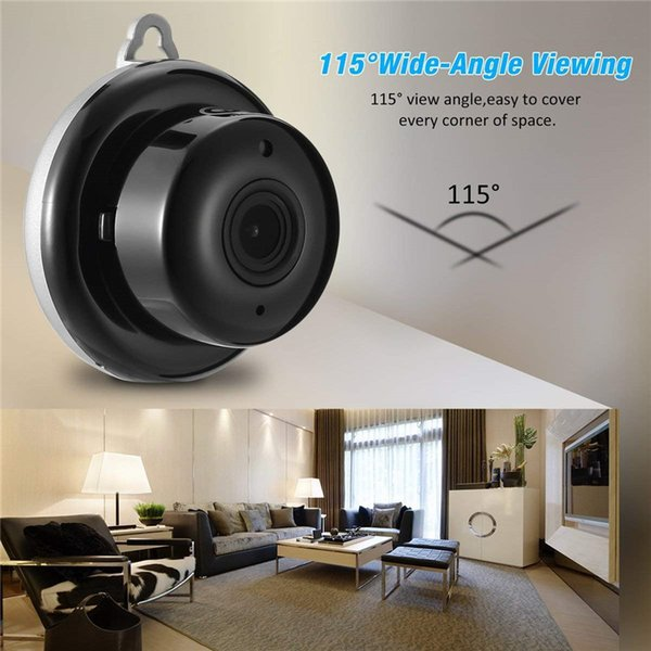 2.1mm Lens 960P WIFI Night Vision Two-way Audio Smart Home Security IP Camera Motion Detection Alarm
