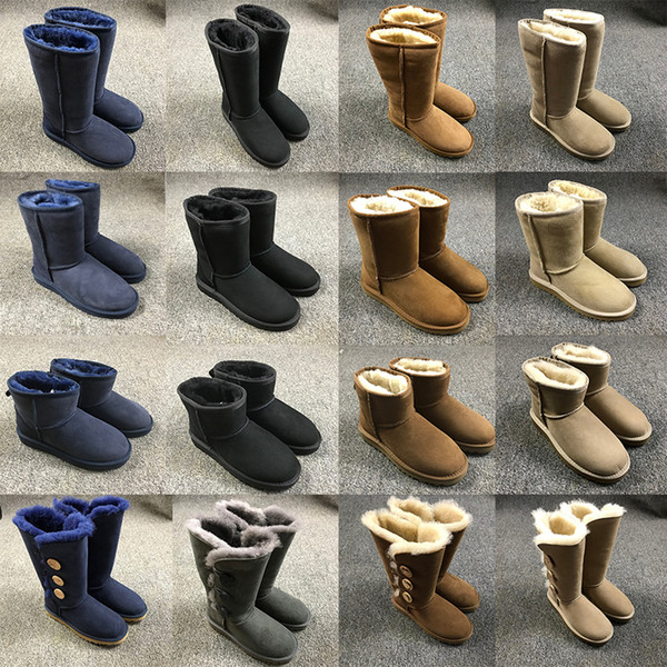 Original WGS Woolen Boots Shoes Classic Mountaineering Snow Boot Style Shoe outdoor For Men Women Shoes Kneel Boots keep warn