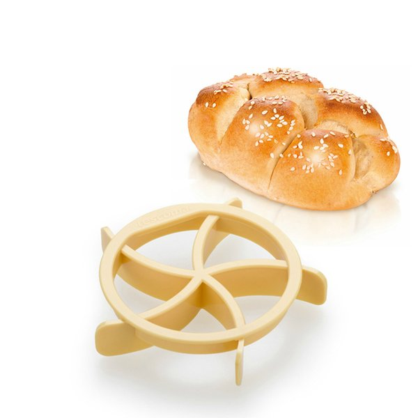 Wholesale- Delicious Homemade Bread Rolls Mold for Bread Kaiser Line Mould Kitchen Pastry Baking Tools