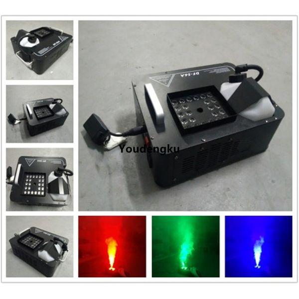 best selling 24x3w rgb led smoke machine dmx fog machine with led light fogging machine 1500w