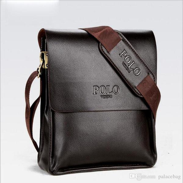 Famou brand leather men bag briefca e ca ual bu ine leather men me enger bag men 039 cro body bag bol a male