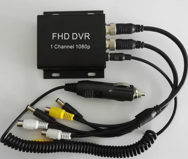 Nova Chegada 1 Canal 1080p completo AHD H.264 Móvel CARR DVR Recorder