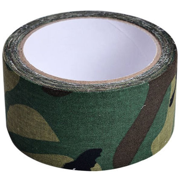 1 roll 5cmx5m outdoor adhesive duct tape for shoot war game wild hidden army gun decorative bandage hunting wrap tape camo belt thumbnail