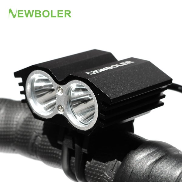 NEWBOLER Sale! 5000 Lumen Waterproof XML U2 LED Bicycle Light Bike Light Lamp 4 Switch Modes with 75CM USB Cable Y1892809