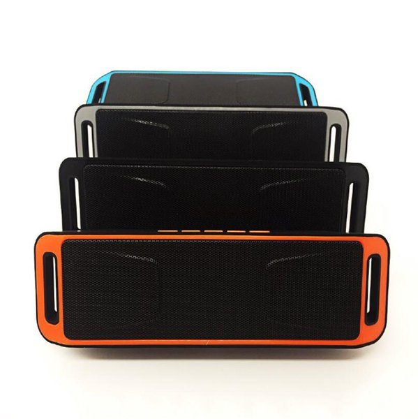 New Fashion SC208 Mini Portable Bluetooth Speakers Wireless Music Player Big Power Subwoofer LX3278